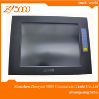 new 10.4 inch HDMI VGA input 800*600 waterproof strong metal casing USB resistive industrial touch screen monitor for PC