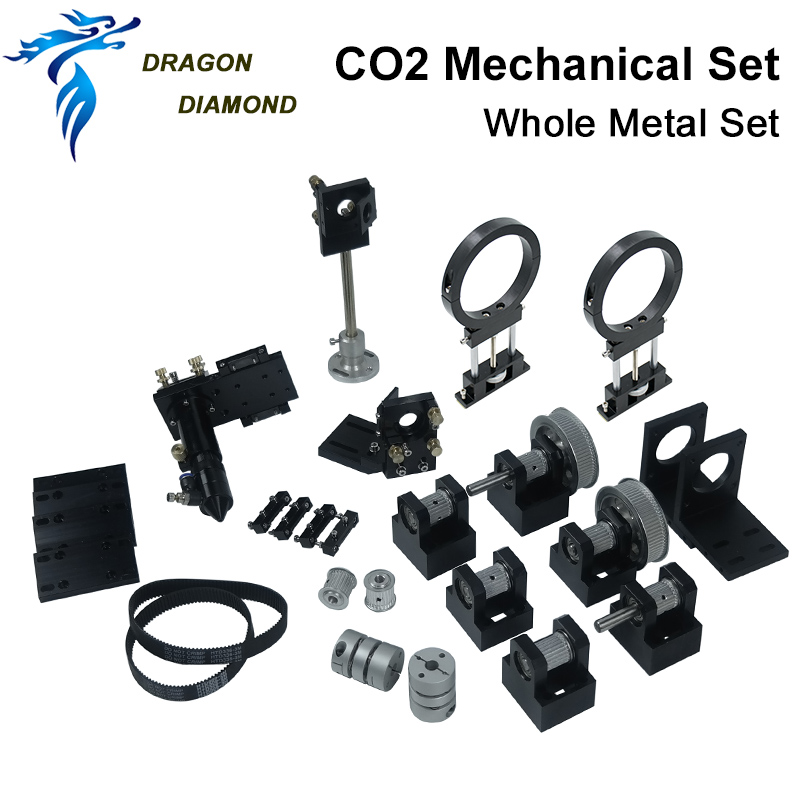 DRAGON DIAMOND CO2 Laser Metal Parts Transmission Laser Head Mechanical Components For DIY CO2 Laser Engraving Cutting Machine