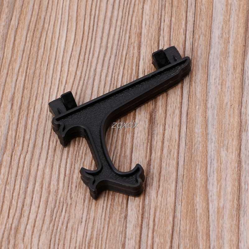 ミニプラスチックコインメダル宝石バッジゴルフポストカードイーゼルコインディスプレイスタンド表示板ホルダー黒/白 Z17 ドロップ船
