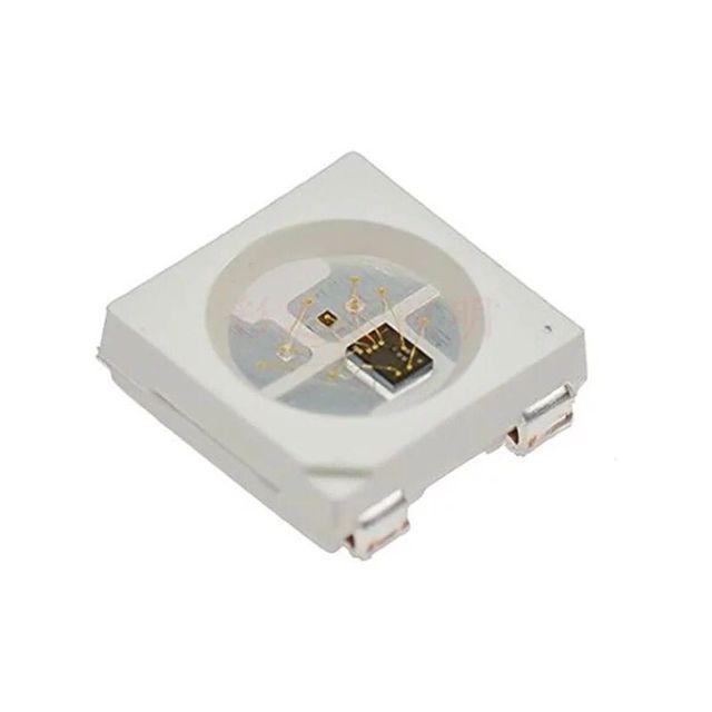 WS2812B V5 (với các tụ điện được xây dựng trong) điều khiển Thông Minh LED tích hợp nguồn ánh sáng; 1000 pcs/reel
