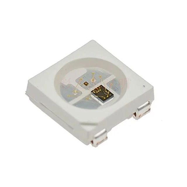 WS2812B V5 (со встроенным конденсатором) светодиодный интегрированный источник светильник с интеллектуальным управлением; 1000 шт./катушка