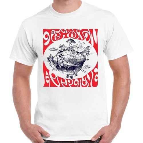 Jefferson Airplane Último Navio Rock Psicodélico Camisa Retro T 438