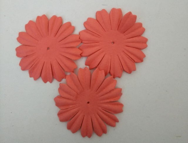 38mm paper flowersscrapbook decorationcoral20pcslotscrapbooking 38mm paper flowersscrapbook decorationcoral20pcslotscrapbooking paper flowers mightylinksfo