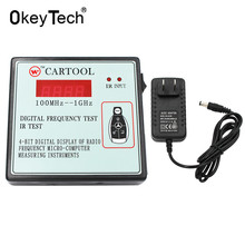 OkeyTech Display Digitale Della Radio Frequenza IR Prova Micro-Computer di Strumenti di Misura, Auto Chiave A Distanza Senza Fili di Controllo Tester