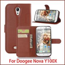 New For Doogee Nova Y100X Case Hight Quality Luxury Flip Leather Stand Cover Book Style