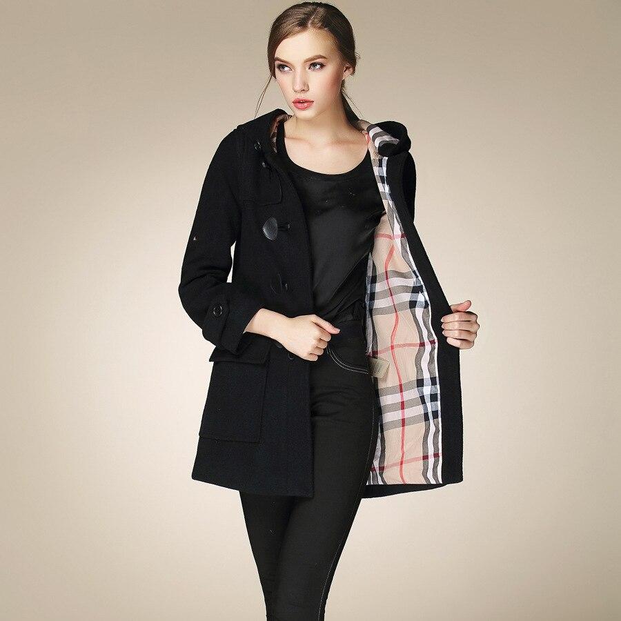 Aliexpress.com : Buy Fasicat Duffle Coat Long Turn Down Collar ...