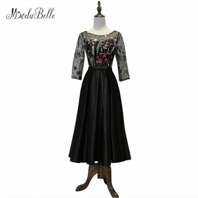 Modabelle Black Girls Formal Party Dress Lace Short Prom Dresses ...