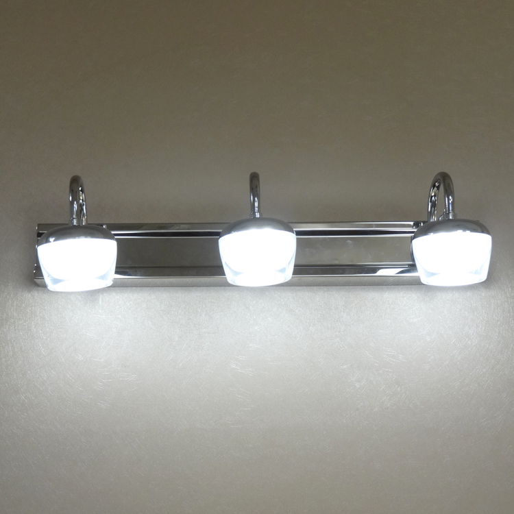 Dressing table mirror led headlights hotel wall lamp