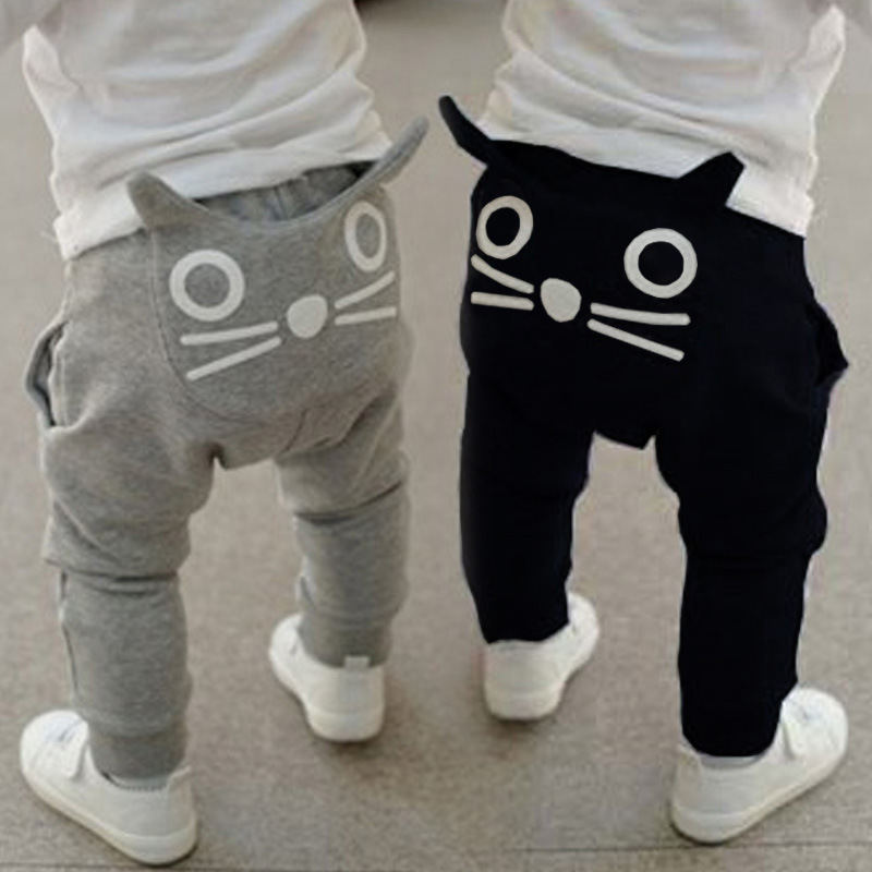 kids clothing boys Brand harem pants cotton owl trousers baby pants 100%cotton Casual Toddler Bottoms Boy Animal Trousers12M-24M