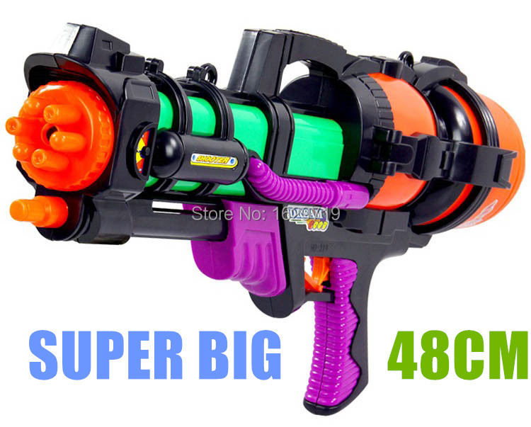 Big Water Gun 48cm High Pressure Pump Action Perfect Summer font b Outdoor b font font
