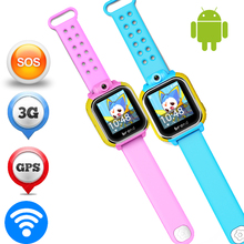 Smart Kid Safe GPS Watch ZW29 Wristwatch GSM/WCDMA SIM Card SOS Call Location Finder Locator Tracker For Child Monitor Baby Gift