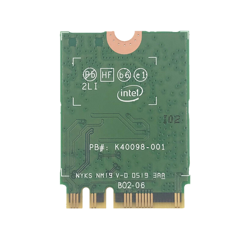 Image 3 - Wireless for Intel AX200 AX200NGW 1730Mbps NGFF M.2 Bluetooth 5.0 Dual Band Wifi Network Card 802.11ac/ax Better than Intel 9260-in Network Cards from Computer & Office