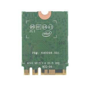 Image 3 - Z zestawem anten AC88U 8dbi + bezprzewodowa karta Intel Wi Fi AX200 Bluetooth 5.0 802.11ax/ac MU MIMO 2x2 Wifi NGFF AX200NGW