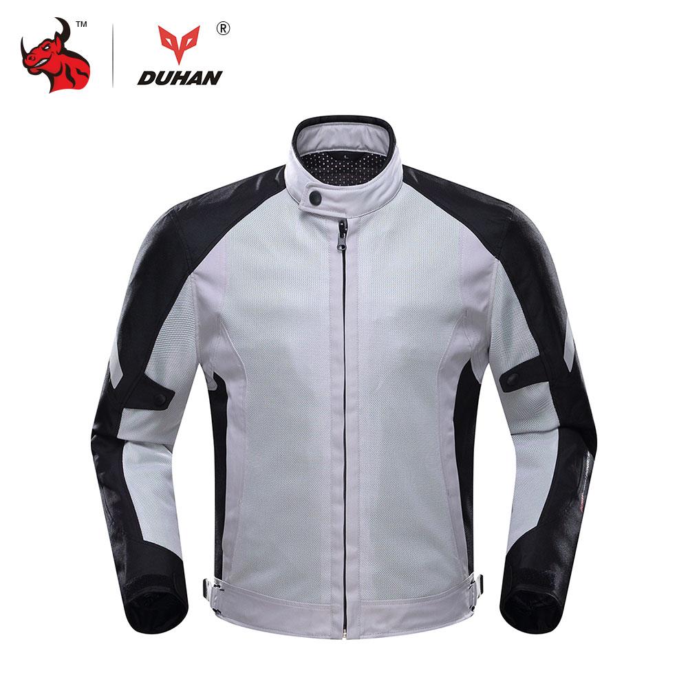 DUHAN Motorcycle Jacket Summer Breathable Moto Jacket Motocross Clothing Jaqueta Motoqueiro Campera Moto Hombre стоимость