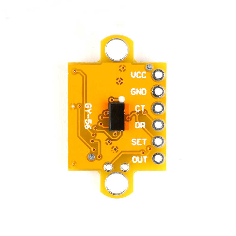 Free Shipping 5pc GY-56 VL53L0X ToF Infrared Laser Ranging Sensor Module  GY-56 Serial Communication or I2C IIC