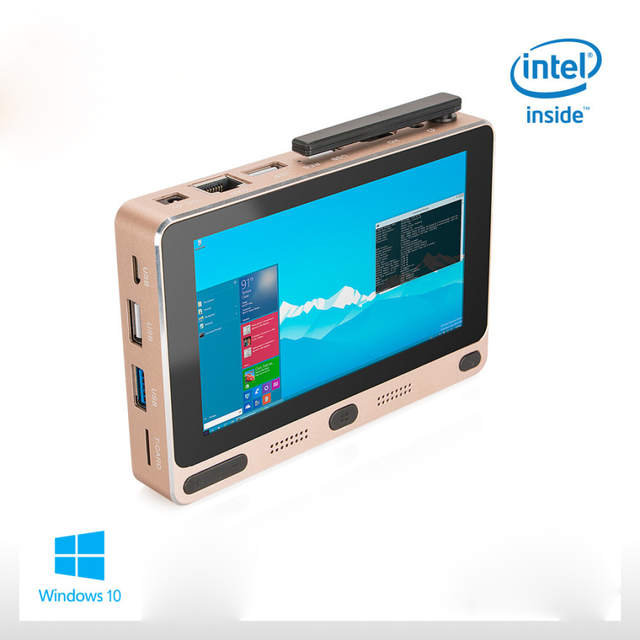 Pocket PC Windows 10 Home Intel Cherry trail Z8300 5