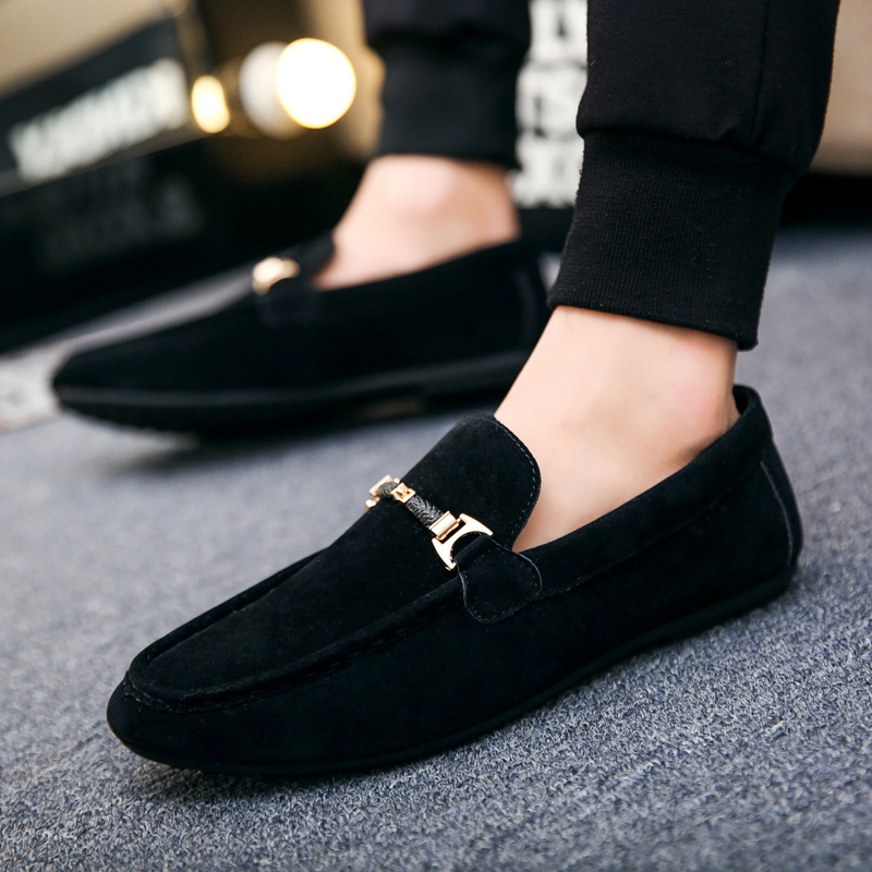 Fashion Men Casual Velvet Shoes Mens Loafers Suede 3d Pointed Embroidery Gentleman Luxury Shoes Male Brand Slip On Flat Shoes Men S Casual Shoes Aliexpress