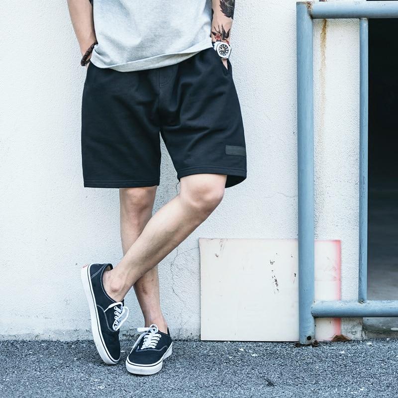 2018 New Running shorts man Summer Sports Ventilate Black Size L-3XL
