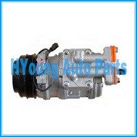 10PA17C 99488569 500341617 447100-9750 Compressor auto ac para o Cursor EuroTrakker IVECO EuroTech MH Stralis 24 V 115 milímetros