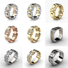 лучшая цена 21 Styles Fashion Lovers' Rings Wedding Engagement Rings Good Quality Cubic Zirconia Trending Ring Jewelry Best Gift for Couples
