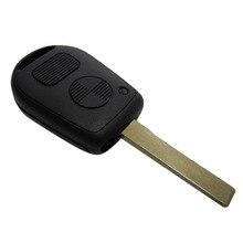Дистанционный Ключ Оболочка Для BMW M3 Z4 X5 E46 325i 325ci 325xi 330ci 330i 330xi 2 Кнопки Автозапуск Fob Случае с HU92 с логотип