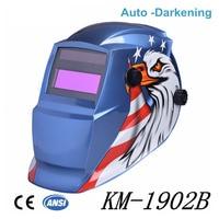 Solar Auto Darkening Welding Helmet cap Arc Tig Mig Grinding Eagle Welding & Soldering Supplies