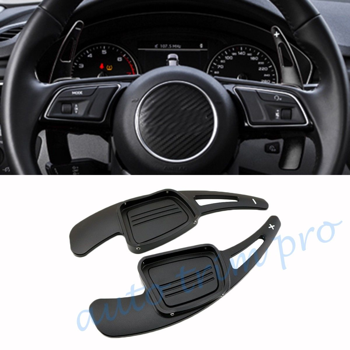 DSG Steering Wheel Shift Level Paddle Shifter Extension For Audi A3 A4L A5 S3 S4 Q2
