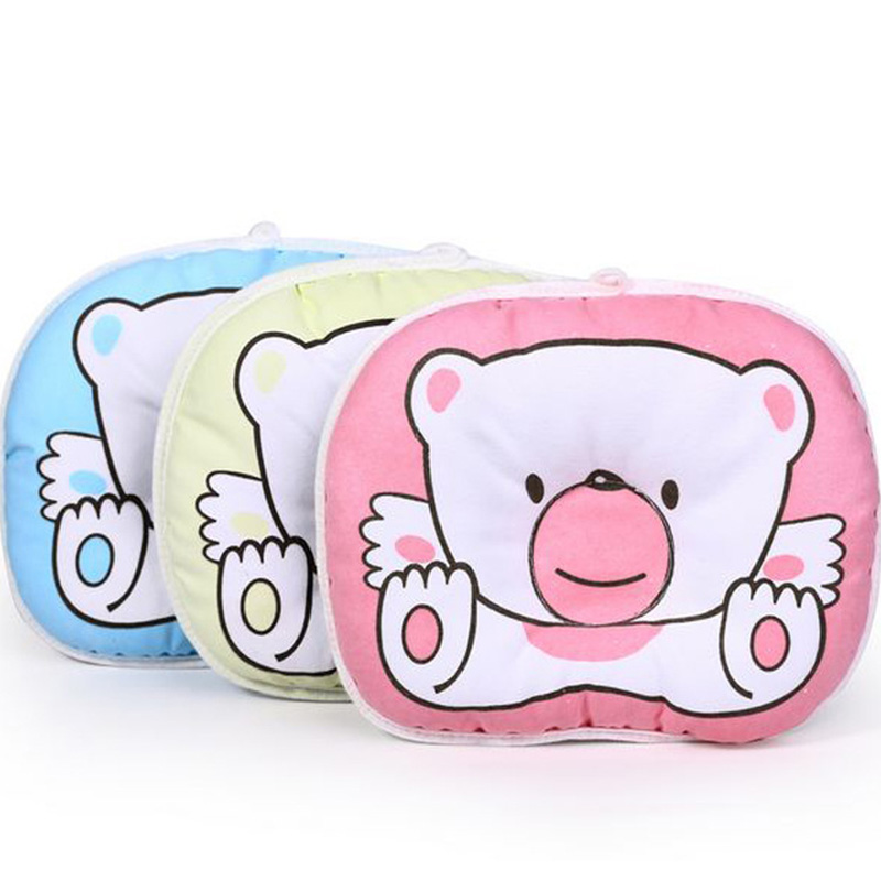 Mambobaby Baby Pillow Infant Newborn Support Cushion Prevent Flat Head Pillow Baby Room Cots Support Head Sleep Shape Pillows