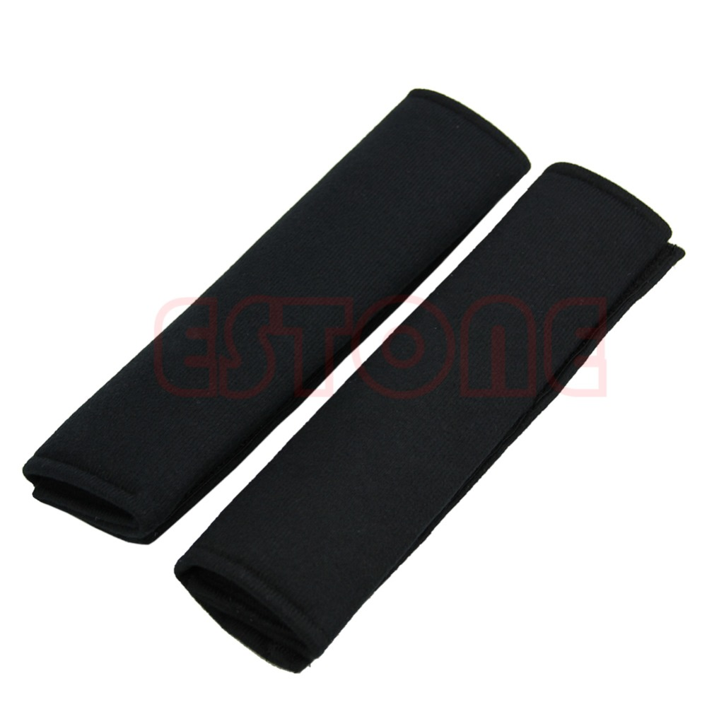 Seat Belt Shoulder Pads Strap Harness Covers Cushions Pair // Set For Honda Cars