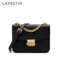 LA FESTIN elegant geometric bag Luxury Shoulder bags Designer Genuine Leather Crossbody Bags For Women 2018 Messenger Bags