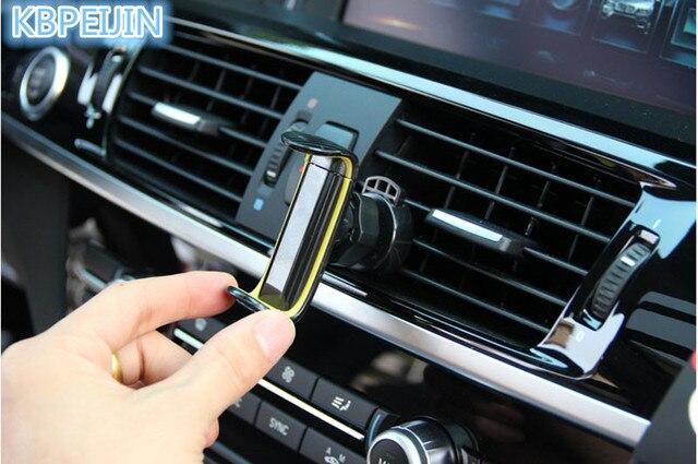 car stand air vent mount 360 degree car phone holder for cadillac srx cts ats escalade key emblem sts dts bls accessories