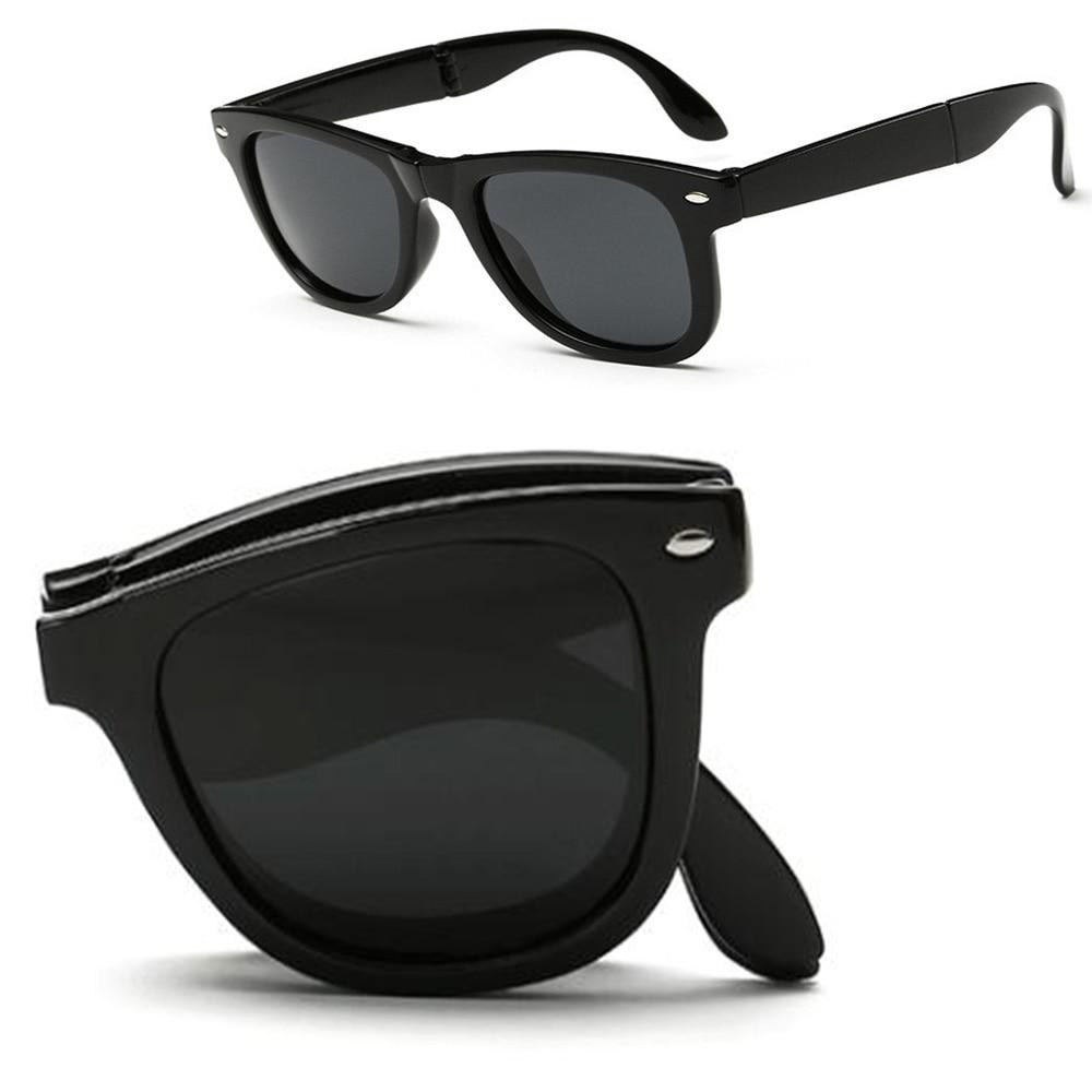 e8e501ce735 2017 fashion folding polarized sunglasses Portable Light Foldable UV400  polaroid shopping driving Outdoor designer sun glasses