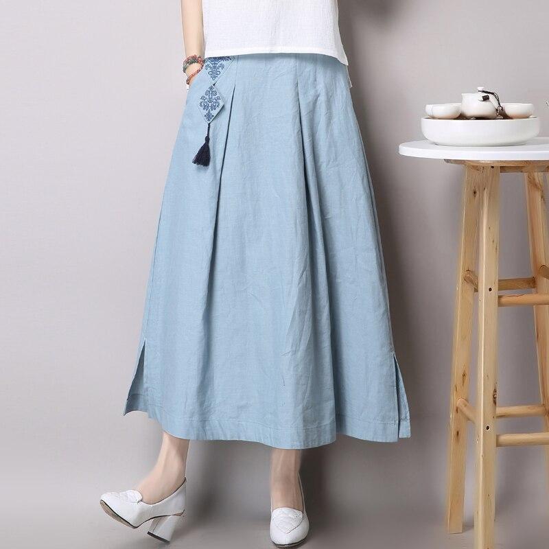 Китайские длинные юбки