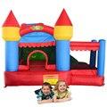 Casa do salto yard uso home mini trampolim de slides com piscina de bolinhas para crianças festa de aniversário oferta especial para o oriente médio