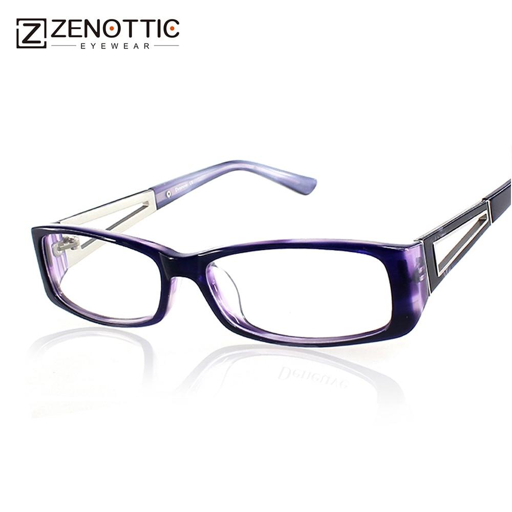 2018 Fashion Brand Design Acetat Eyewear Optiske Briller Ramme Oculos - Beklædningstilbehør - Foto 1
