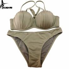 Swimwear 2018 Top Wavy Push Up Bikini Sexy Bikini Set Brazilian Bikinis Women Bathing suit Swimsuit Plus Size Swimwear XXL