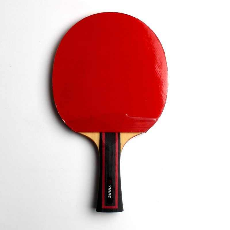 riginal yinhe 06b 06d finished table tennis racket good speed fast attack good sound and feel with case