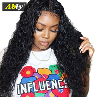 Human Hair Wigs For Women 150% Pre Plucked Hairline 100% Remy Hair Wigs Malaysian Water Wave Glueless Lace Front Human Hair Wigs