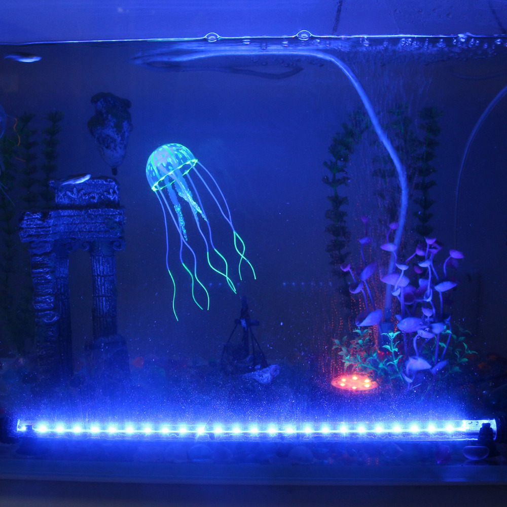 UK Plug Aquarium Fish Tank Light Bar Lamp Submersible Waterproof - Ապրանքներ կենդանիների համար - Լուսանկար 4