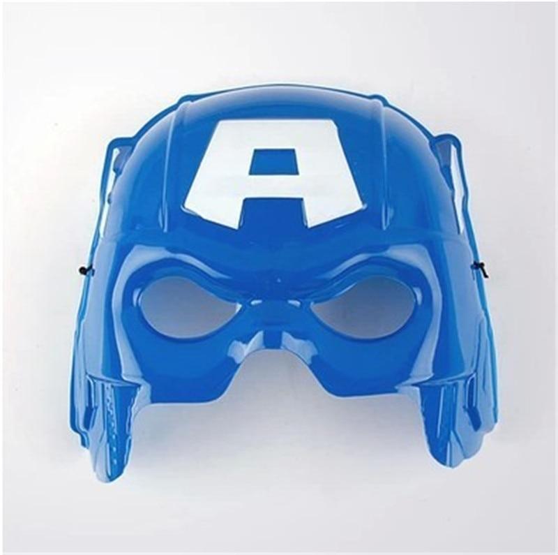 Marvel Мстители 3 Возраст Альтрона Халка черная Widow Vision Ultron Железный человек Капитан Америка Фигурки Модель игрушки - Цвет: No light captain