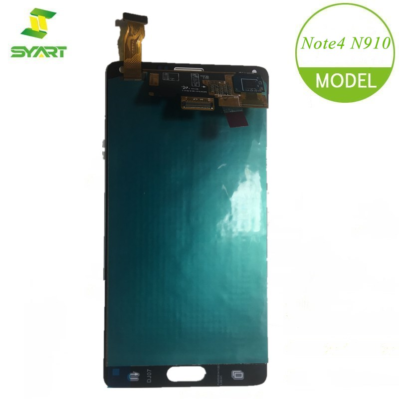 SYART AMOLED LCDs For <font><b>Samsung</b></font> <font><b>Galaxy</b></font> <font><b>Note</b></font> <font><b>4</b></font> N910 LN910C N910A <font><b>N910F</b></font> <font><b>LCD</b></font> Display <font><b>Touch</b></font> <font><b>Screen</b></font> Digitizer Replacement Parts + Tools image