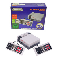 Coolbaby Retro Childhood Mini AV/HDMI 500/600 Different Games Handheld Video Game Console For Nes Games PAL+NTSC dual gamepad