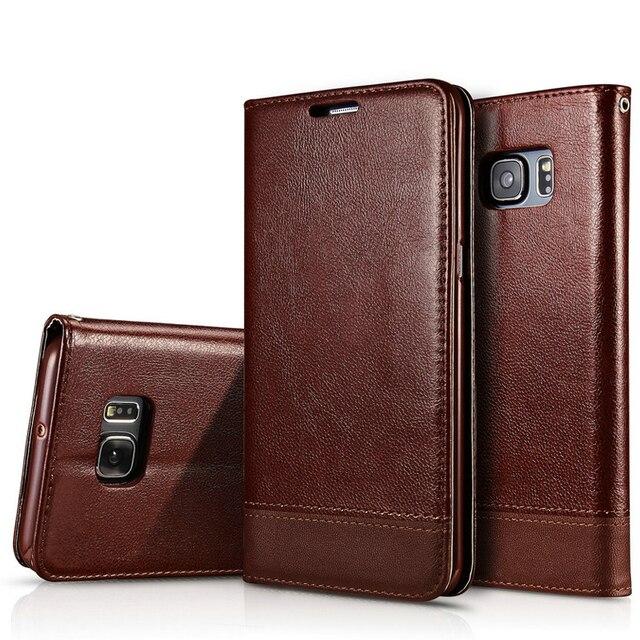 CUSOREINT for Samsung Galaxy S7 Edge G935 G935F G935fd SM-G935fd SM-G935F SM-G935K Flip Leather Cover for Samsung S7 Edge Case
