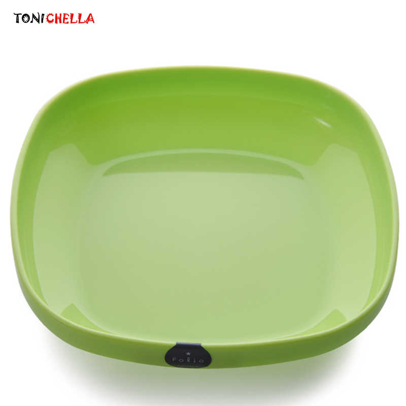Children Plastic Bowls Kids Food Feeding Container Baby Dishes Infant Vegetables Tableware Meal Dinnerware Training Plate T0639