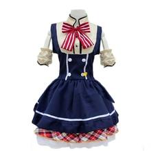 Nuevo azul francés maid dress mujeres dulce lolita dress anime cosplay disfraces de halloween costume party mujeres dress w5389154