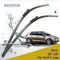 """Lâmina de limpador para Ford C-max (A Partir De 2011) 30 """"+ 26"""" R fit pitada braços do limpador tipo guia apenas HY-017"""