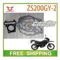 ZONGSHEN 200cc LZX200GY-2 ZS200GY-2 прокладка головки блока цилиндров двигателя бумаги мотоцикл аксессуары бесплатная доставка