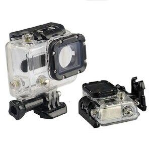 Image 1 - מקרה עמיד למים 45M צלילה ספורט דיור תיבת עם זכוכית הרכבה לgopro Hero 3/3 +/4 מצלמה