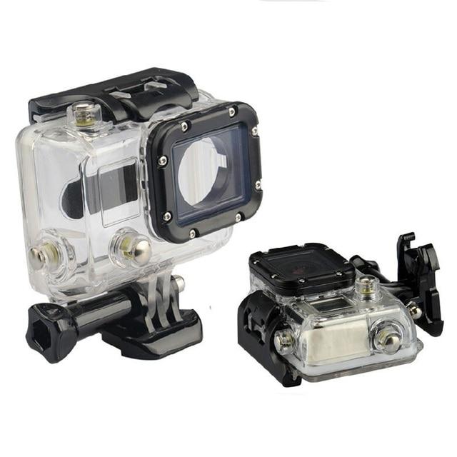 מקרה עמיד למים 45M צלילה ספורט דיור תיבת עם זכוכית הרכבה לgopro Hero 3/3 +/4 מצלמה