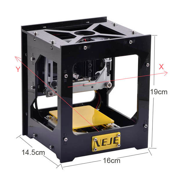 Fancy Laser Engraving Machine Printer 5V 300mW For Hard Wood/Plastic/Rubber CNC Laser Cutting Machine DIY 3D Laser Wood Router abs rubber car door bumper strips w 3m adhesive tapes black